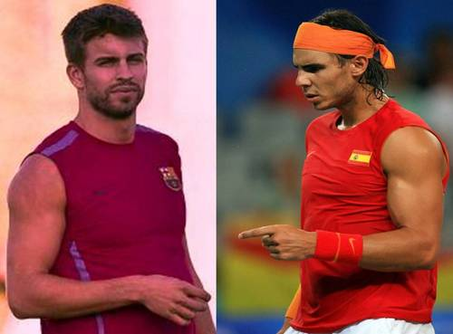 Nadal: Piqué has unfortunately muscles too !