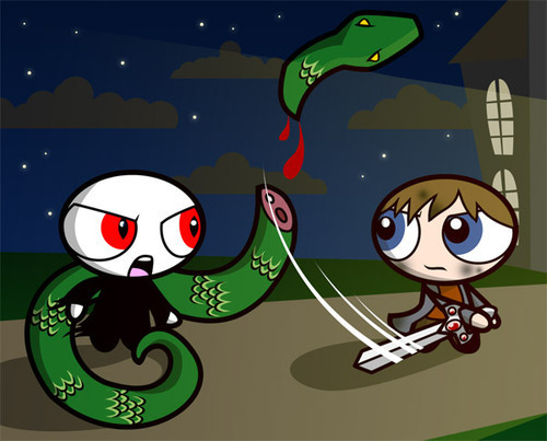 Neville Kills Nagini