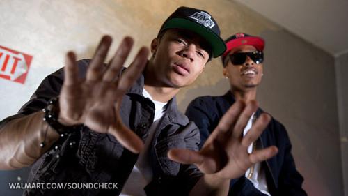 New Boyz on Walmart Soundcheck