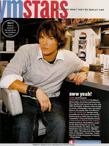 Old articulo about Jared =D <3