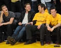 Paul at Lakers Game | May 2nd  - paul-wesley photo