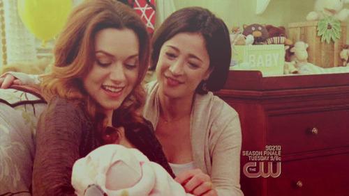 Peyton/Karen & Sawyer ♥