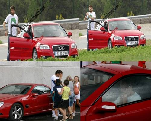 Piqué and Nadal: at first, they had the same car, then they had too the same woman !