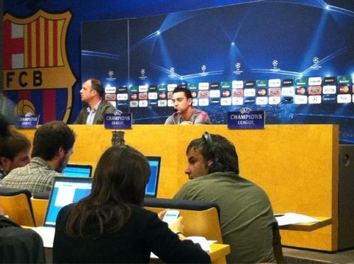 Press conference before the clasico