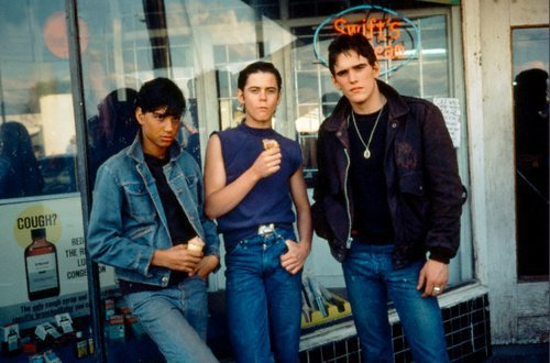 The Outsiders wallpaper containing a street and a revolving door entitled Ralph