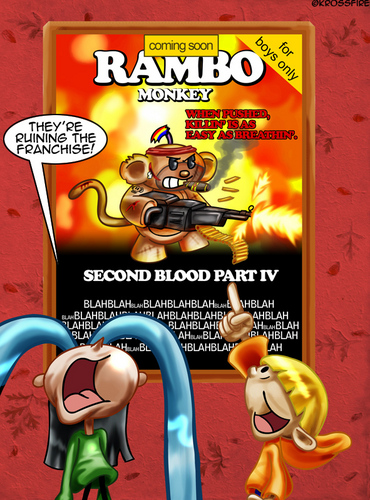 Codename: Kids Next Door wallpaper probably containing anime entitled Rambo Monkey