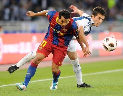 Real Sosiedad vs Barcelona la liga week 34 [2-1]