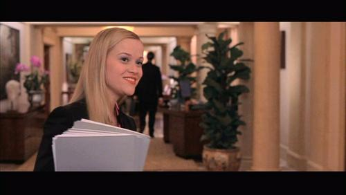 Reese Witherspoon wallpaper titled Reese Witherspoon: Legally Blonde [Screencaps]