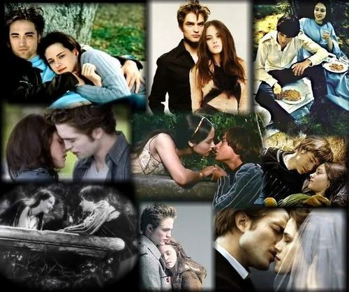 Romeo & Juliet AND Edward & Bella Comparison Фан Art