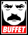 Ron Swanson: Obey the Buffet  - parks-and-recreation fan art