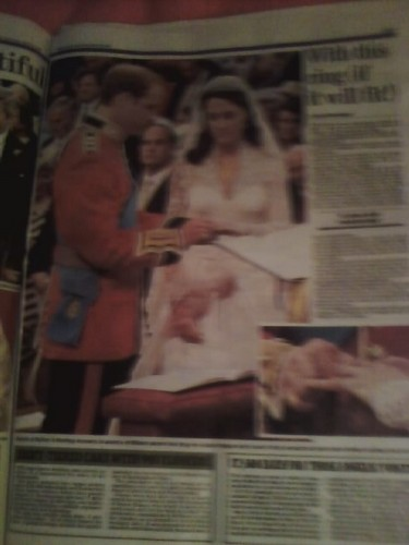 Royal Wedding {Daily Mail} - prince-william-and-kate-middleton Photo