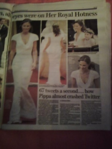 Royal Wedding {Daily Mail}