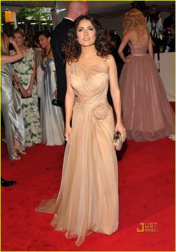 Salma Hayek - MET Ball 2011