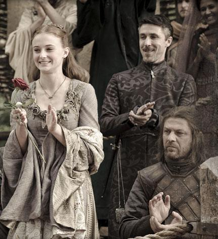 Sansa, Petyr & Ned
