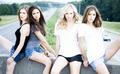 Sara, Nina, Candice, Kayla