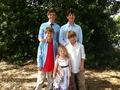 Sarah, Joshua, MattyB, Blake Jr., John Michael