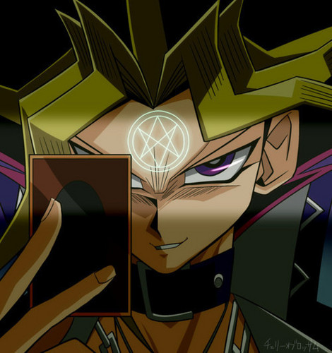 Yami Yugi fond d'écran probably containing a stained glass window and animé titled Sexy Yami Yugi