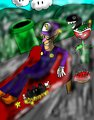 ShadamyMephonic Waluigi Art - waluigi fan art