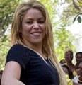 Shakira dark nipples