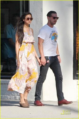 Shia & Karolyn out in Studio City