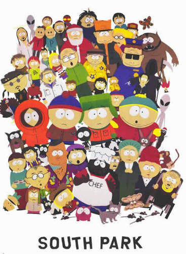 South Park Hintergrund titled South Park characters