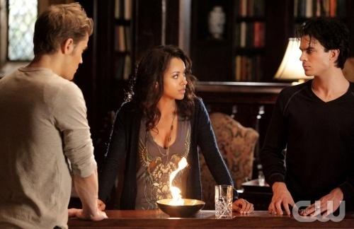 Stefan, Damon and Bonnie
