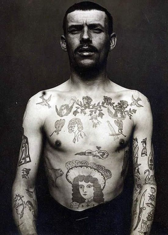Traditionally tattooin...