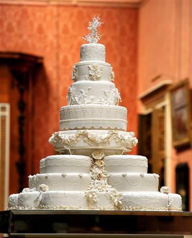 prince william and kate wedding cake. The Royal Wedding Cake
