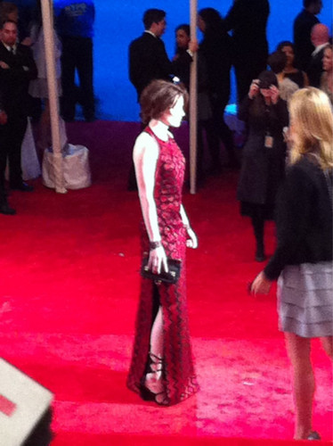 The first pic at Kristen Stewart at Met Gala!