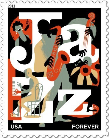 The new US postage stamp - jazz Photo