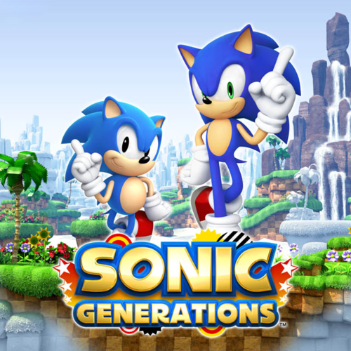 The sonic generations game!