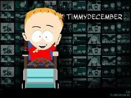 South Park wolpeyper probably containing a sign entitled Timmy