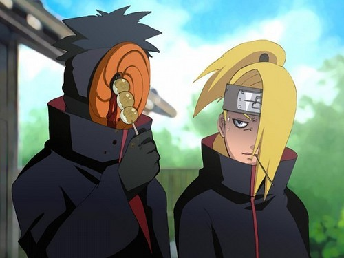 Naruto Shippuuden wallpaper called Tobi and Deidara