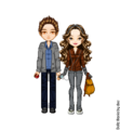 Twilight Saga Dollz - robert-pattinson fan art