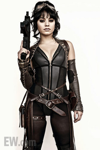 Vanessa Hudgens wallpaper possibly containing a hip boot called Vanessa - Sucker Punch [2011]  Promotional