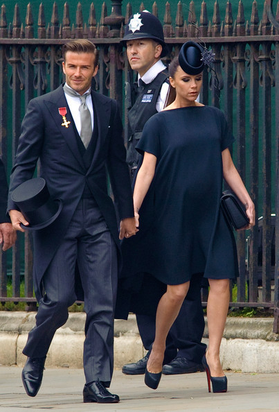 Victoria Beckham - Wedding David & WAGs  Royal Photo