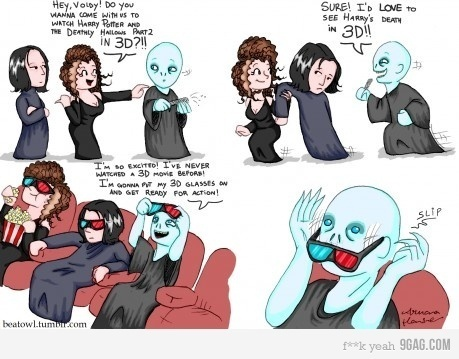 Voldemort and 3-D Glasses