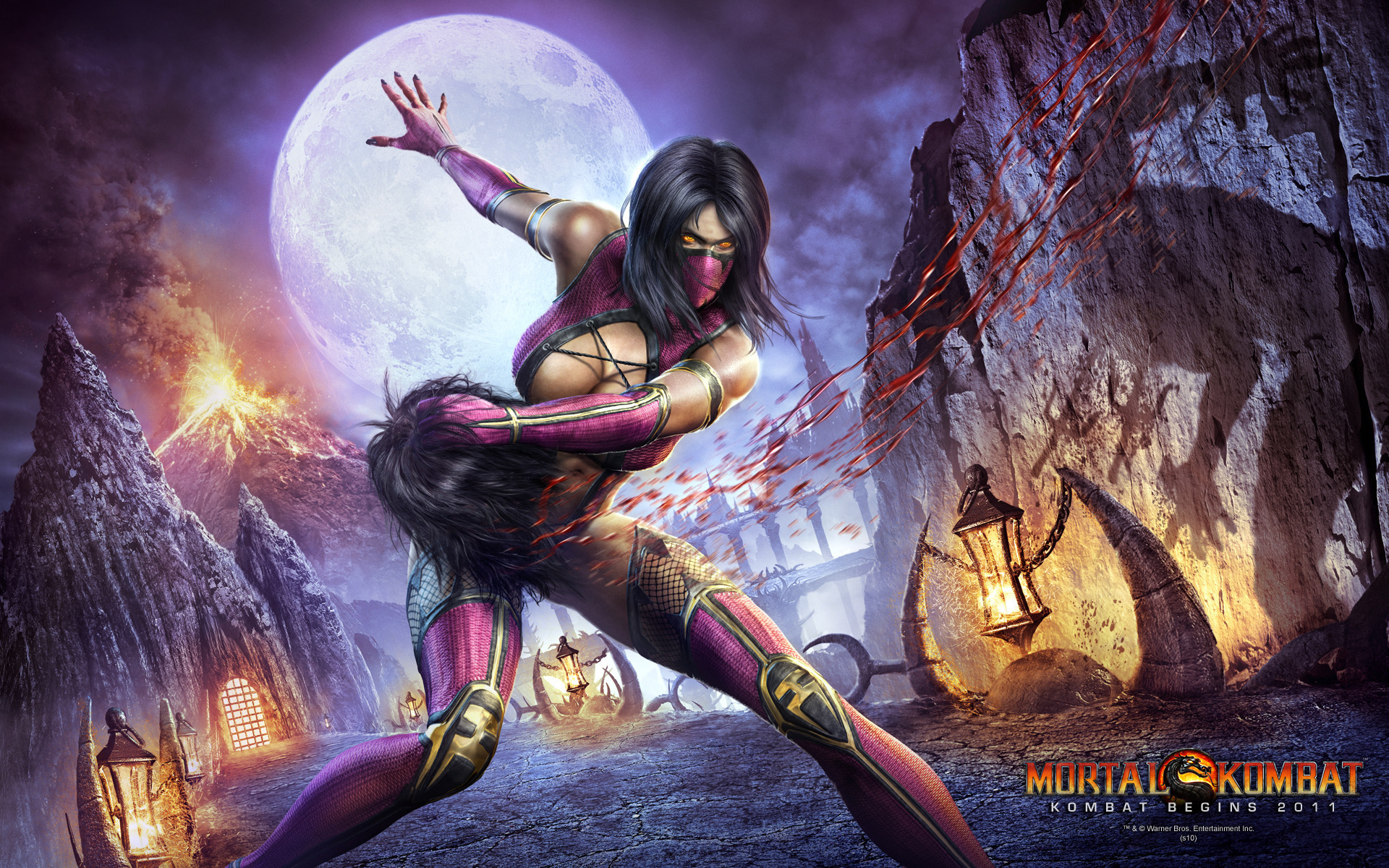 The Ladies Of Mortal Kombat Images Wallpaper Hd Wallpaper And