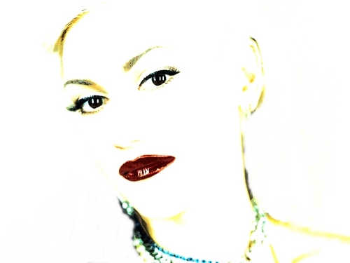 White Gwen - gwen-stefani Fan Art