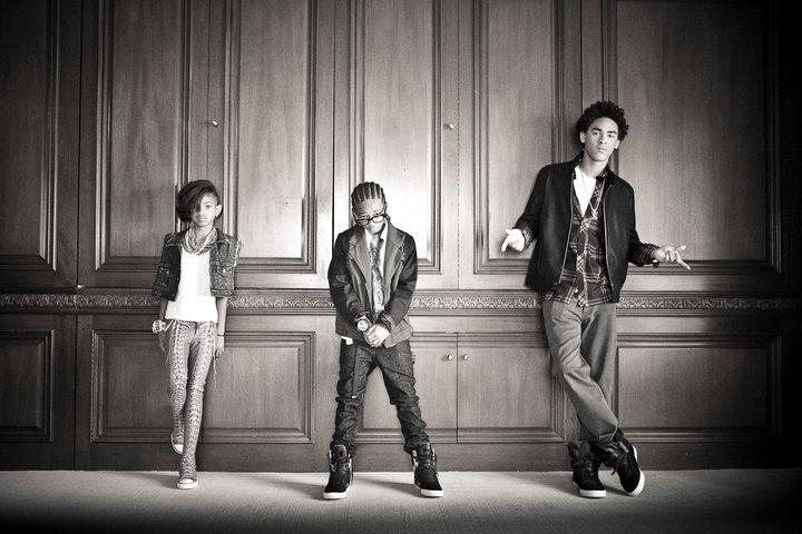Willow, Jaden & Trey <3