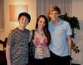 With Cody Simpson& Greyson Chance<3