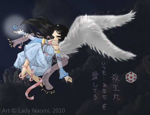 angel kagome