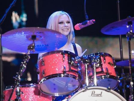 avril on tour
