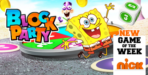 Fanboy ''N'' Chum Chum kertas dinding called block party
