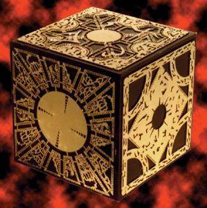 Horror films achtergrond called Hellraiser puzzle box