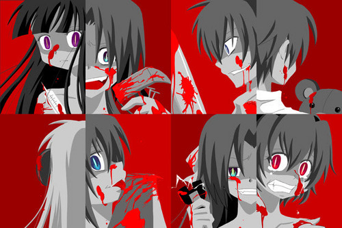 higurashi no kori character in blood
