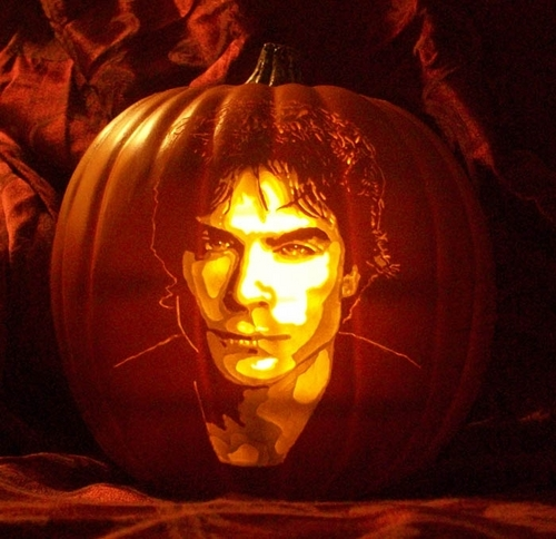 Ian Somerhalder wallpaper probably containing a jack o' lantern entitled ian somerhalder zucca