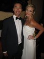 jordan and alicia at the logies