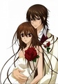 kaname and yuki  - vampire-knight photo