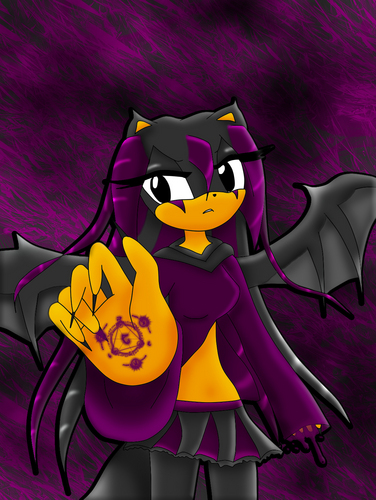 Sonic girl Fan characters Hintergrund entitled khryz in demon form >p